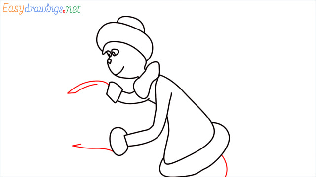 How to draw The grinch step (9)