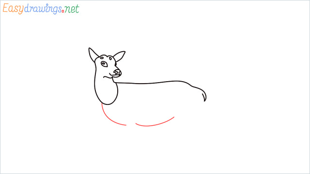 How to draw a Reindeer step (7)