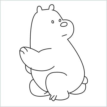 Ice Bear drawing