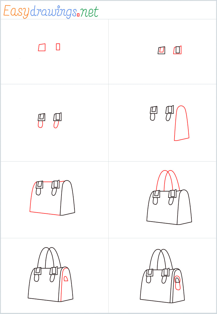 Ladies bag drawing Overview