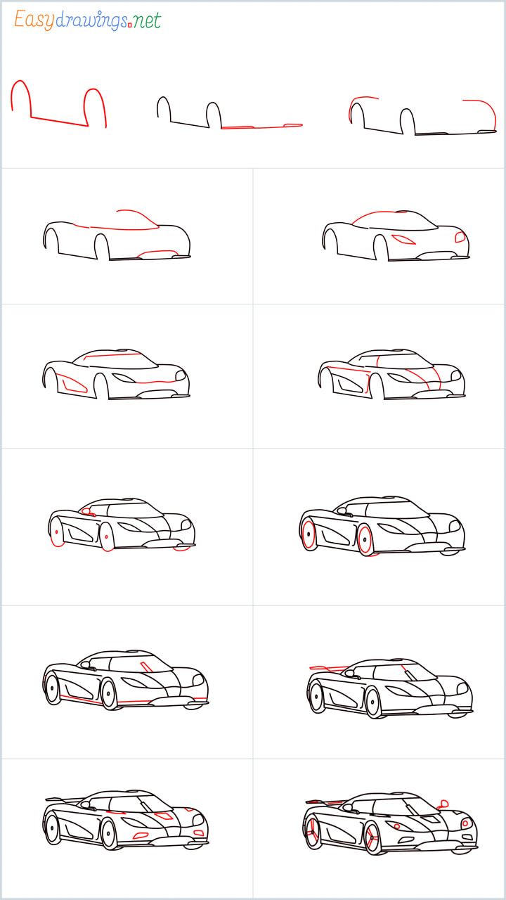 Overview for Koenigsegg agera drawing