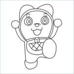 dorami drawing