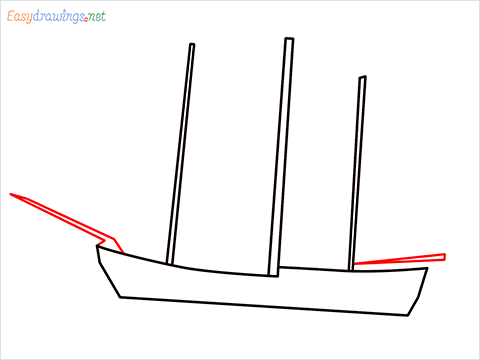 how to draw a pirate ship step (3)