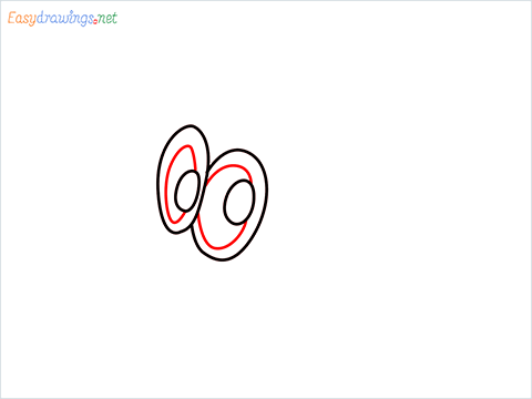 how to draw cappy ghost step (3)