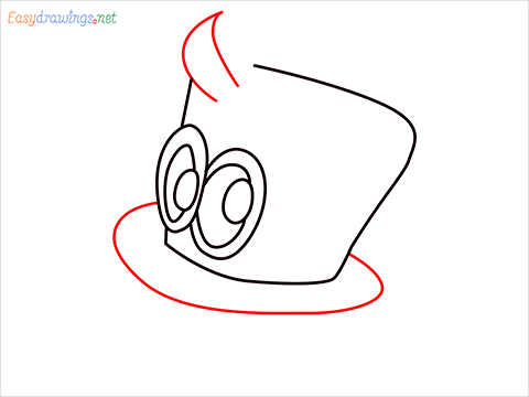 how to draw cappy ghost step (5)