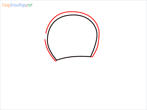 how to draw dorami step (2)