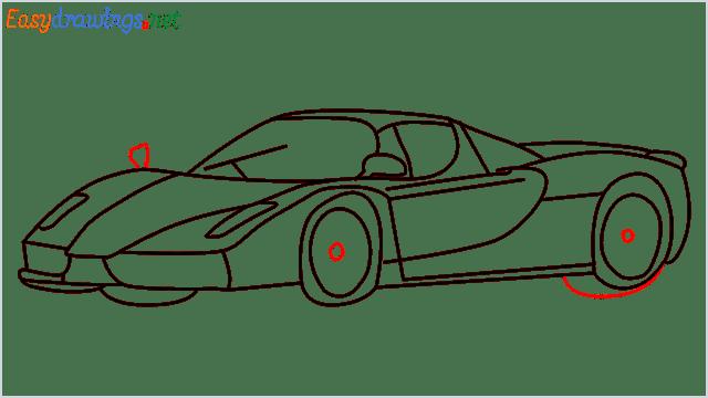 how to draw ferrari car step (13)