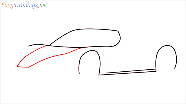 how to draw ferrari car step (4)
