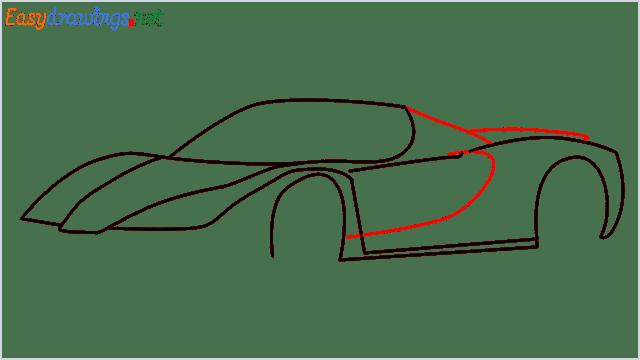 how to draw ferrari car step (7)