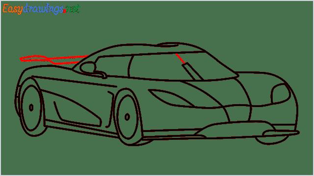 how to draw koenigsegg agera step (11)