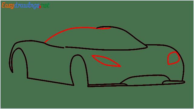 how to draw koenigsegg agera step (5)
