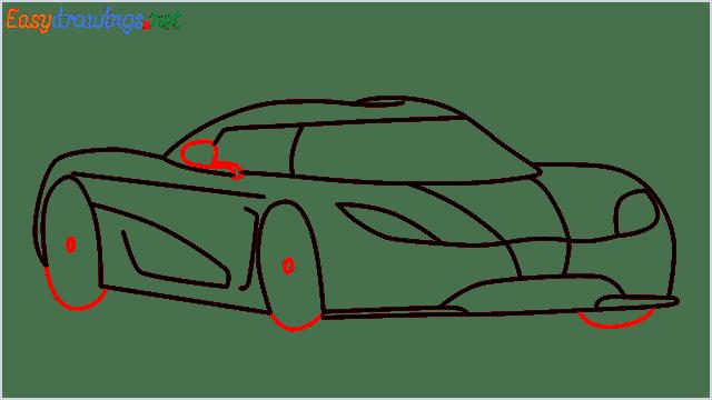 how to draw koenigsegg agera step (8)