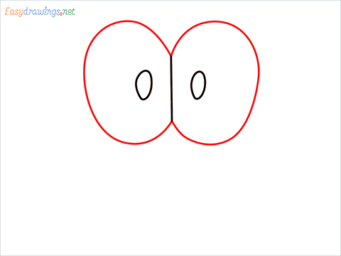 how to draw mario hat step (2)