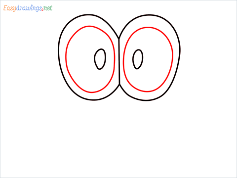 how to draw mario hat step (3)