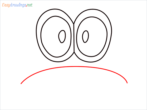 how to draw mario hat step (4)