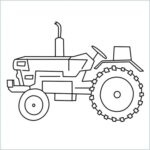 draw a tractor