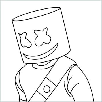 draw marshmallow