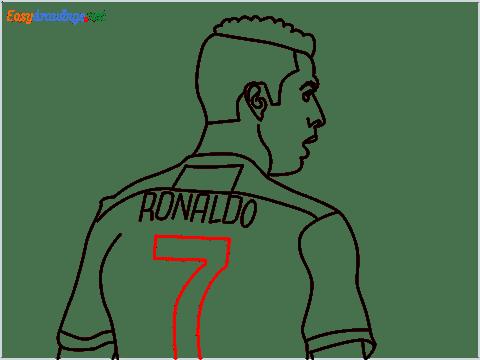 how to draw Cristiano Ronaldo cr7 step (12)