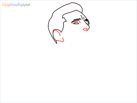 how to draw Lionel Messi step (5)