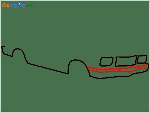 how to draw a Contessa car step (4)