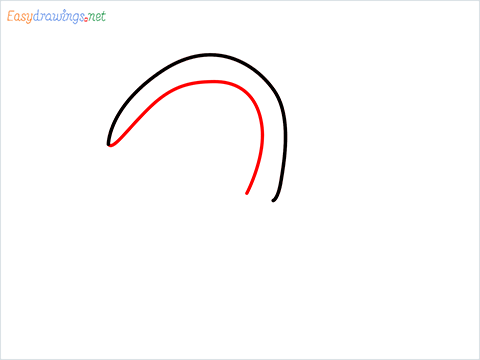 how to draw a Sickle step (2)