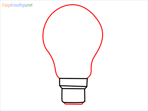 how to draw a bulb step (4)
