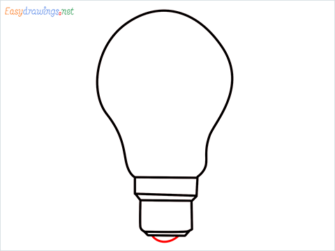 how to draw a bulb step (5)
