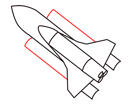 how to draw a easy rocket step (7)