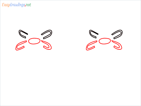 how to draw a gas stove step (2)