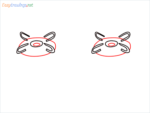 how to draw a gas stove step (3)