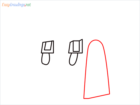 how to draw a ladies bag step (4)