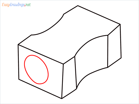how to draw a pencil sharpener step (5)