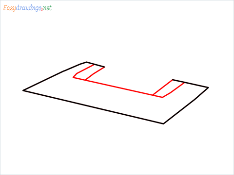 how to draw a printer step (2)