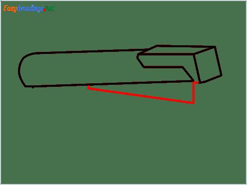 how to draw a stapler step (4)