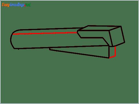 how to draw a stapler step (5)