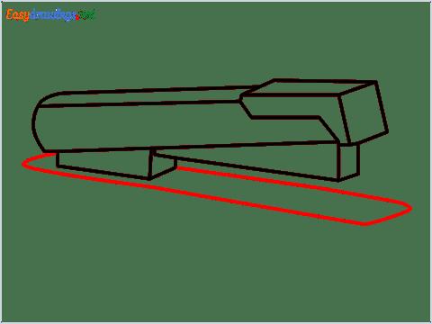 how to draw a stapler step (7)