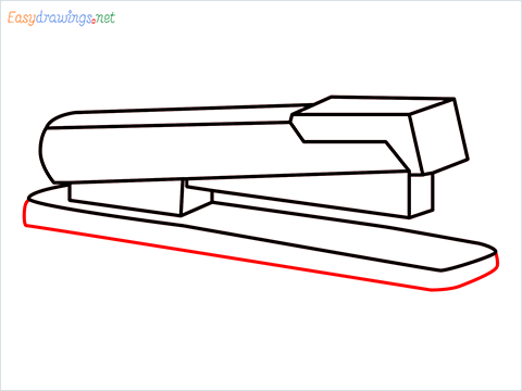 how to draw a stapler step (8)