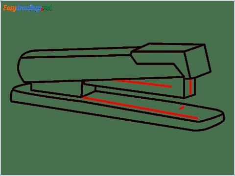 how to draw a stapler step (9)