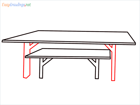 how to draw a table step (4)