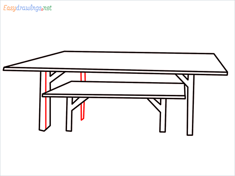 how to draw a table step (5)