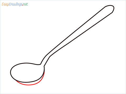 how to draw a tablespoon step (4)