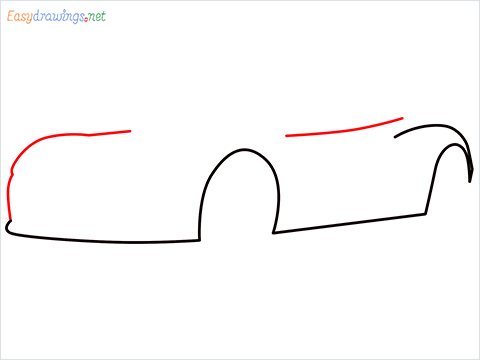 how to draw a tesla car step (3)
