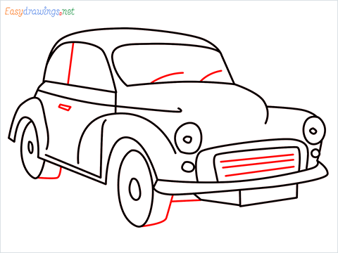 how to draw morris minor step (10)