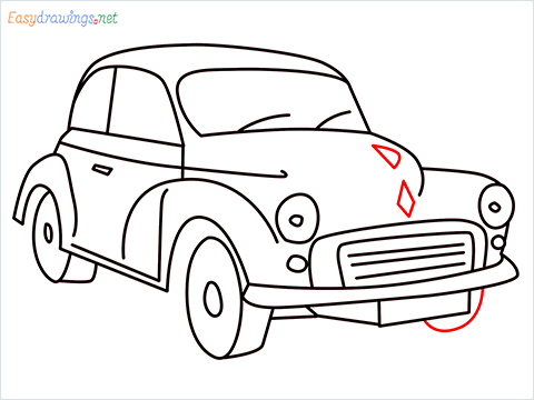 how to draw morris minor step (11)