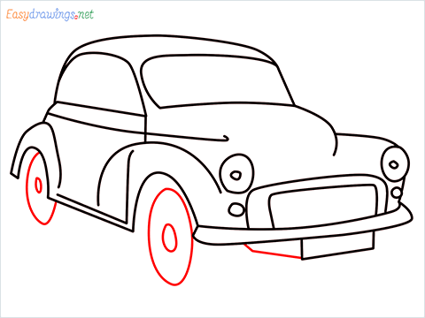 how to draw morris minor step (9)