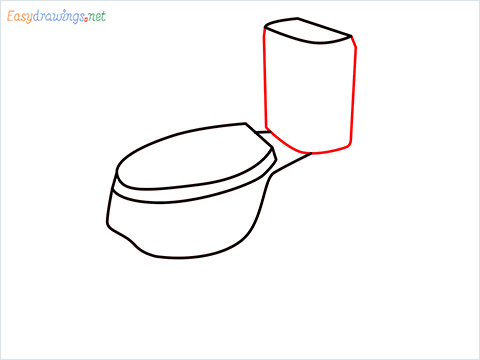 how to draw toilet (4)