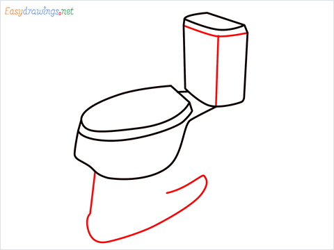 how to draw toilet (5)