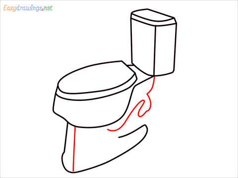 how to draw toilet (6)