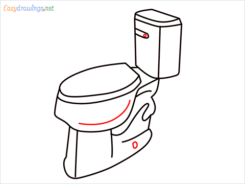 how to draw toilet (8)