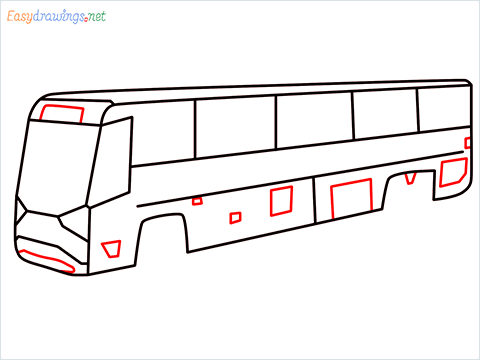 how to draw volvo bus step (8)